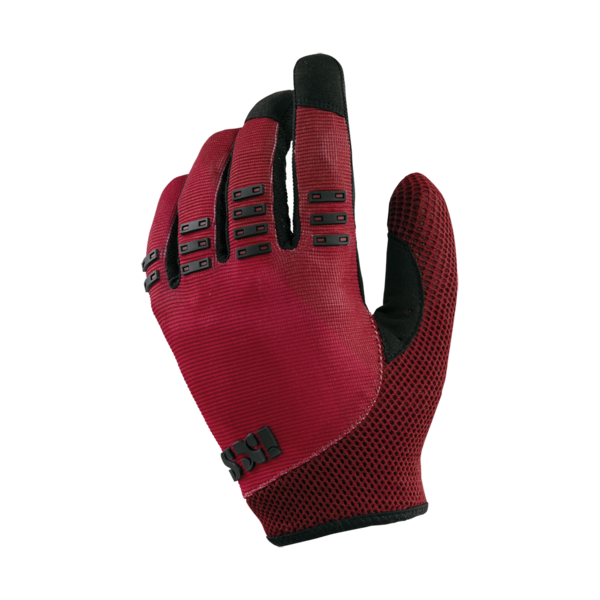 iXS BC-X3.1 Gloves Color: Red/Black