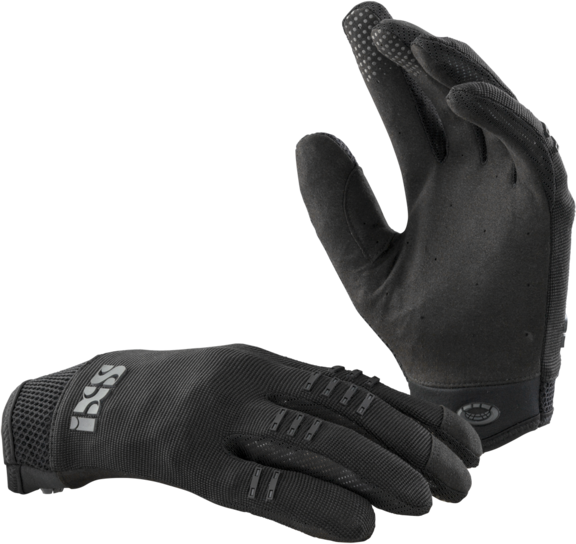 iXS BC-X3.1 Kids Gloves Color: Black