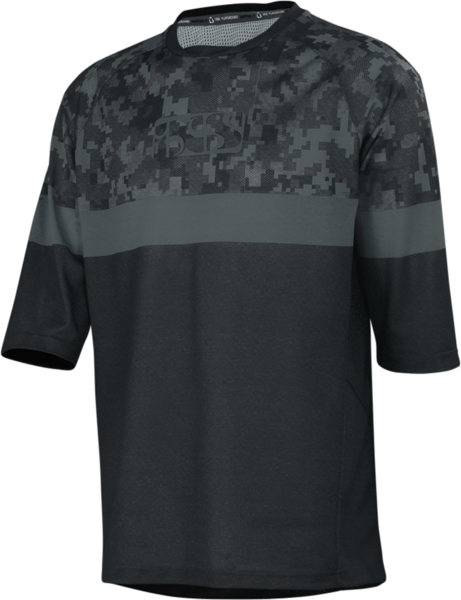 iXS Carve Air Jersey Color: Black/Camo