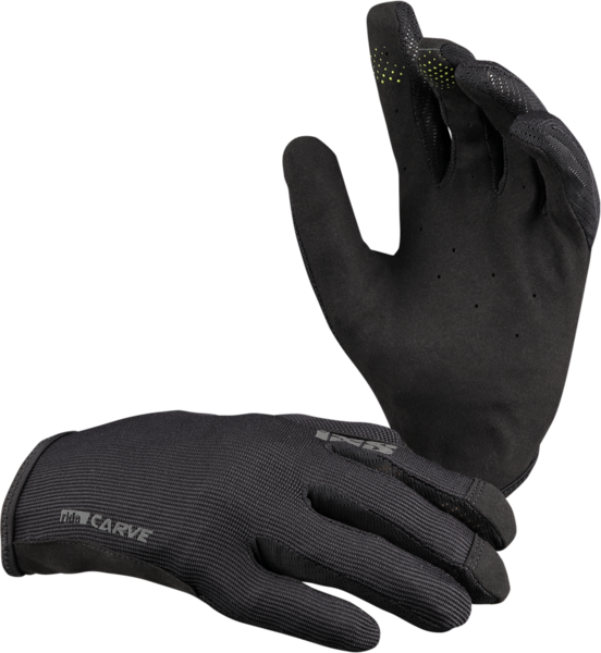 iXS Carve Gloves Color: Black