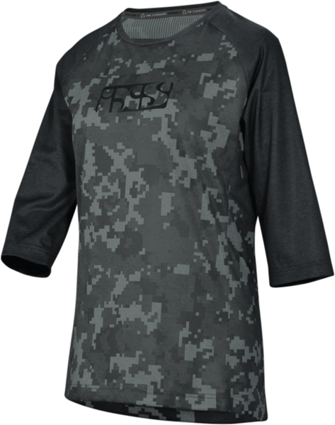 iXS Carve Women Jersey Color: Black/Camo