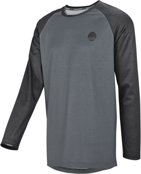 iXS Flow Longsleeve Jersey Color: Graphite/Black
