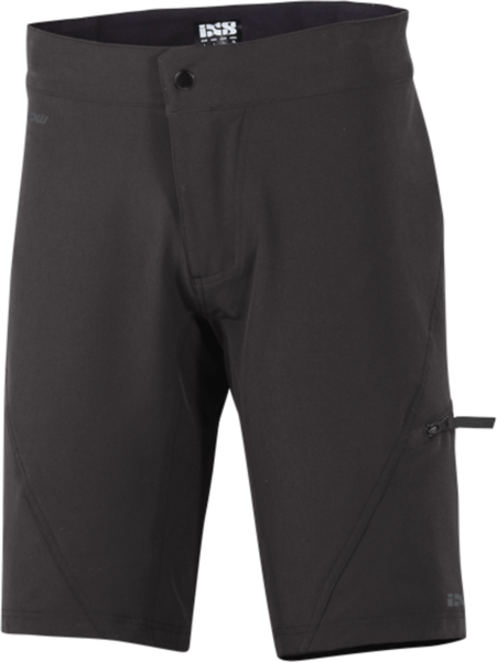 iXS Flow Shorts Color: Black