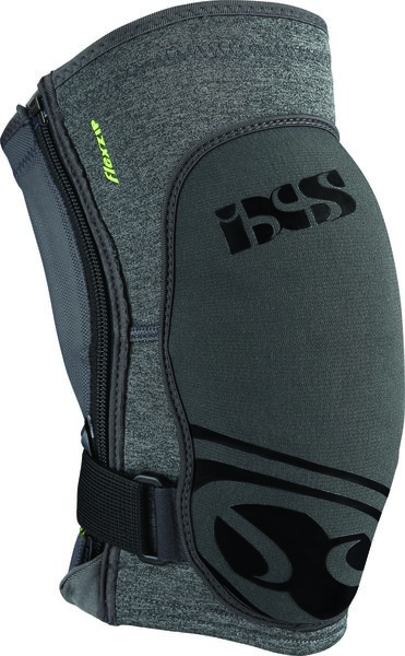 iXS Flow Zip Knee Guard Color: Grey