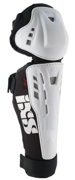 iXS Hammer Knee/Shin Guards - Kid's Color: White