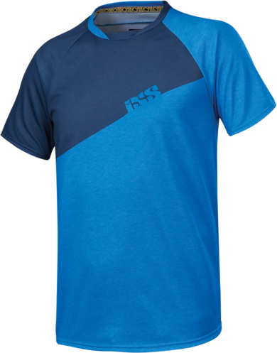 iXS Progressive 6.1 Kids Jersey Color: Fluor Blue