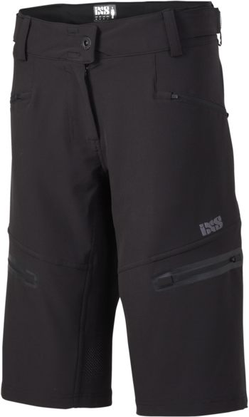 iXS Sever 6.1 Women Shorts Color: Black