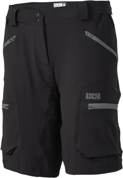 iXS Tema 6.1 Women Shorts Color: Black