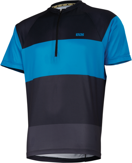 iXS Trail 6.1 Jersey Color: Fluo Blue/Black