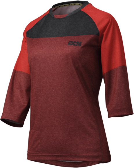 iXS Vibe 6.1 Women Jersey Color: Night Red