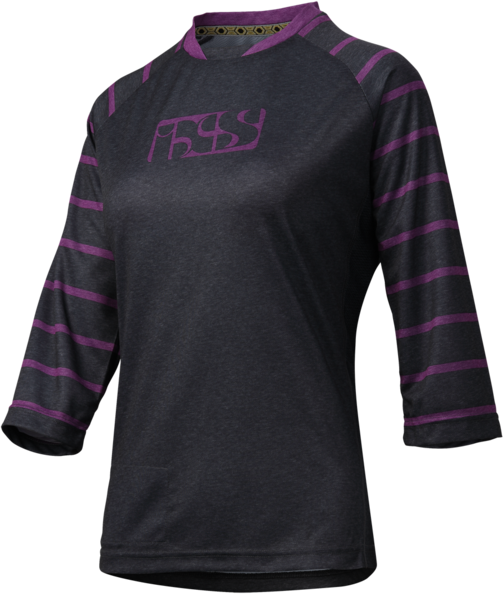 iXS Vibe 6.2 Women Jersey Color: Black/Purple
