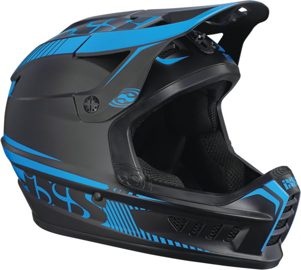 iXS Xact Helmet Color: Black-Blue