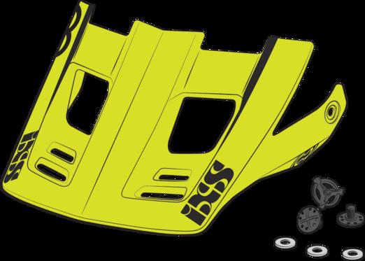 iXS Xult Visor +Pins