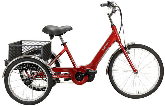 IZIP E3 Go eTrike Color: Red
