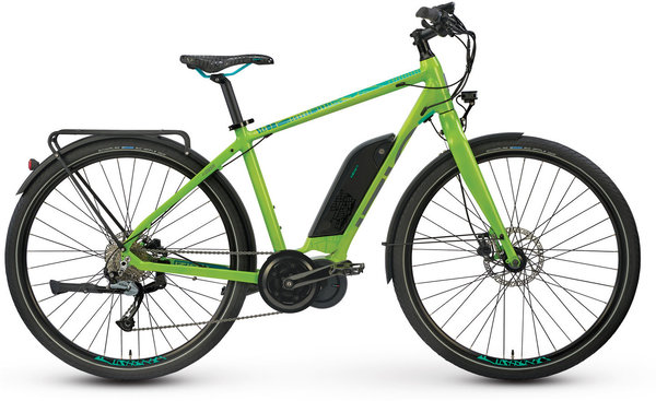 IZIP E3 Peak eMTB Color: Lime Green