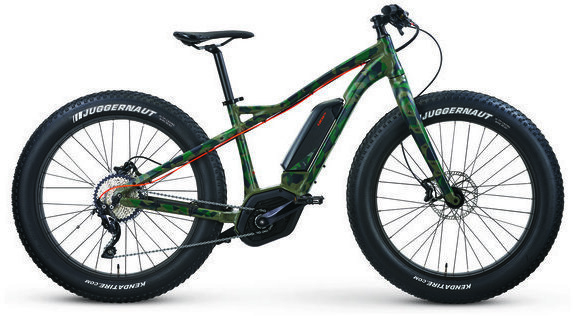 IZIP E3 Sumo eMTB Color: Army Green