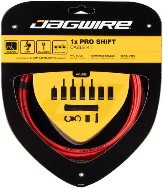 Jagwire 1x Pro Shift Kit Color: Red