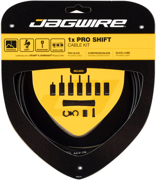 Jagwire 1x Pro Shift Kit Color: Black