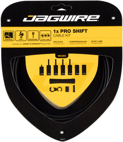 Jagwire 1x Pro Shift Kit Color: Stealth Black