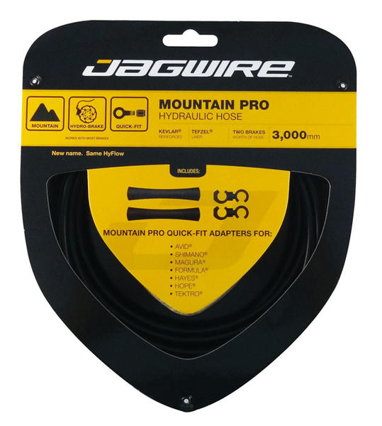 Jagwire Mountain Pro Hydraulic Hose Color: Black