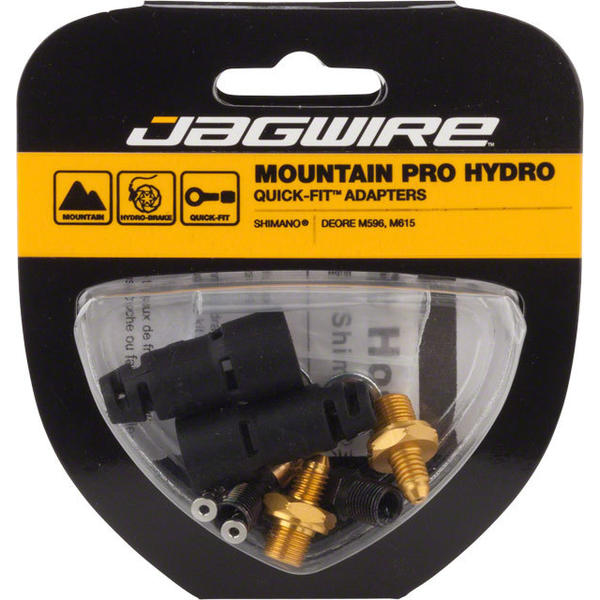 Jagwire Mountain Pro Disc Brake Hydraulic Hose Quick-Fit Adaptor