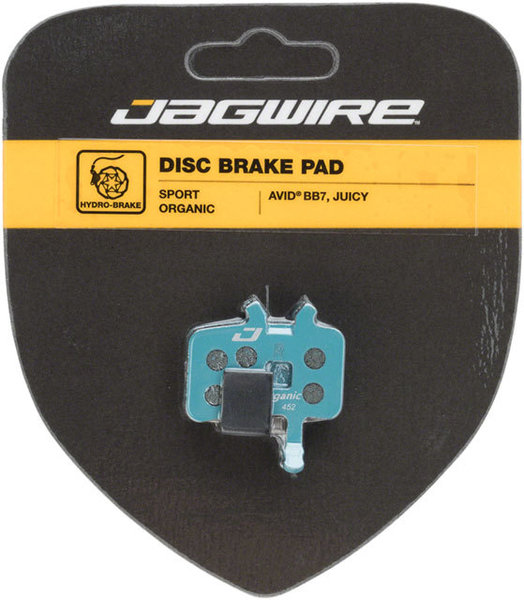 Jagwire Mountain Sport Organic Disc Brake Pads (Avid) Model: DCA764