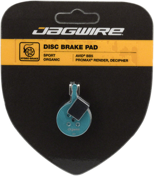 Jagwire Mountain Sport Organic Disc Brake Pads (Avid)