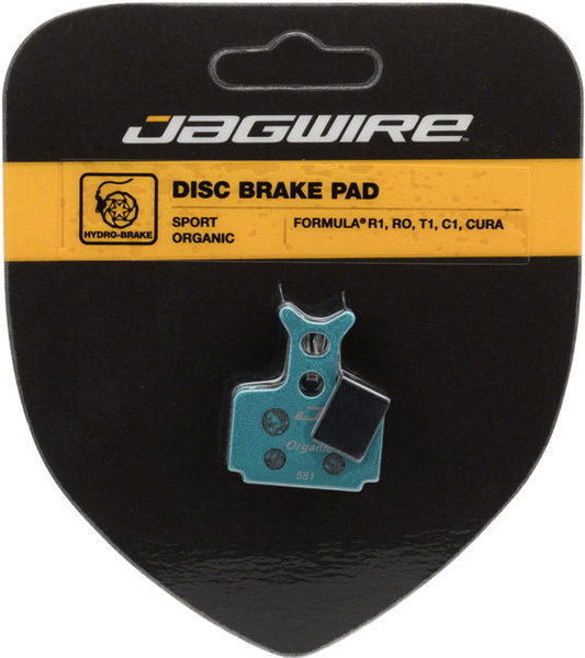 Jagwire Mountain Sport Organic Disc Brake Pads (Formula) Model: DCA780
