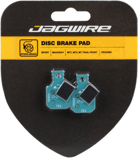 Jagwire Mountain Sport Organic Disc Front Brake Pads (Magura) Model: DCA706