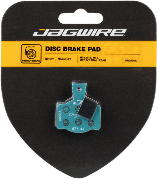 Jagwire Mountain Sport Organic Disc Rear Brake Pads (Magura) Model: DCA787
