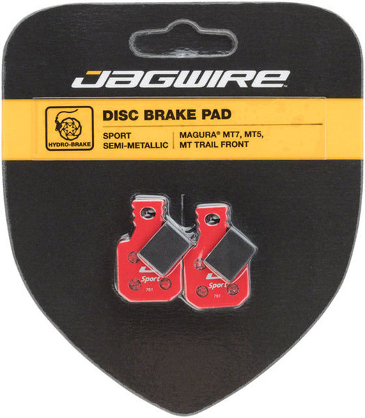 Jagwire Mountain Sport Semi-Metallic Disc Brake Pads (Magura) Model: DCA006