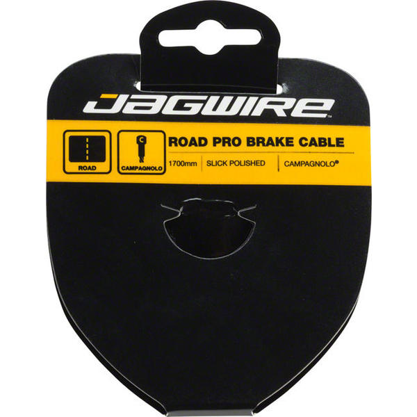 Jagwire Pro Slick Polished Stainless Brake Cable Length | Model: 1700mm | Campagnolo