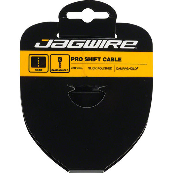 Jagwire Pro Slick Polished Stainless Shift Cable Length | Model: 2300mm | Campagnolo