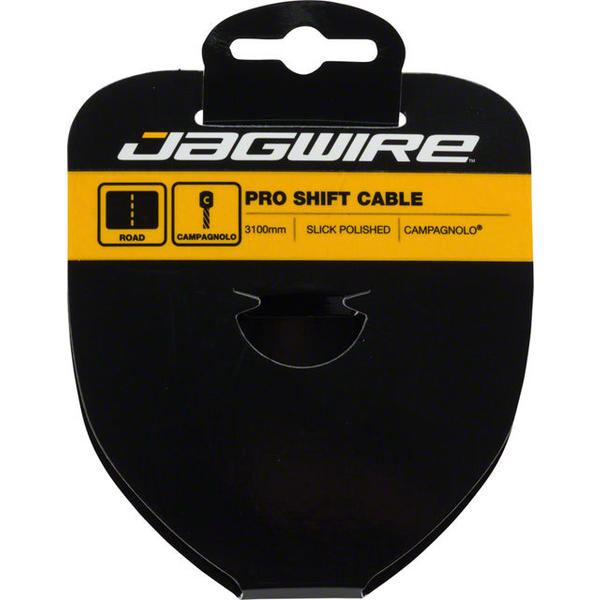 Jagwire Pro Slick Polished Stainless Shift Cable Length | Model: 3100mm | Campagnolo