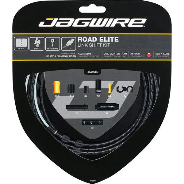 Jagwire Road Elite Link Shift Cable Kit Color: Black