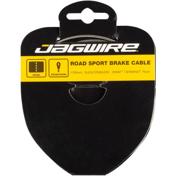 Jagwire Sport Slick Galvanized Road Brake Cable Length: 1700mm