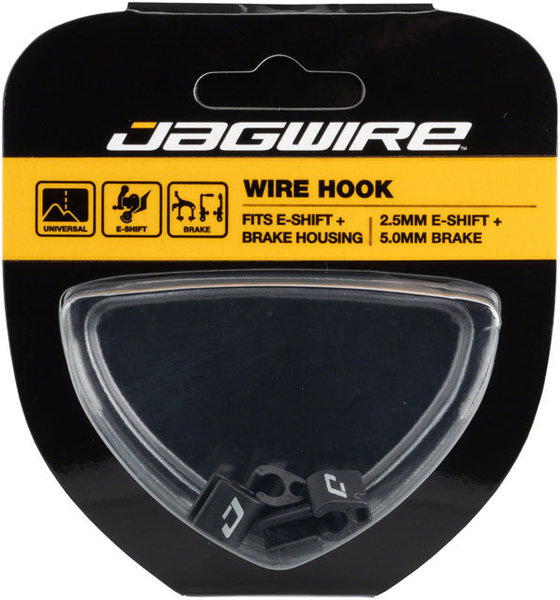 Jagwire Wire Hook - E-Shift & Brake Color: Black