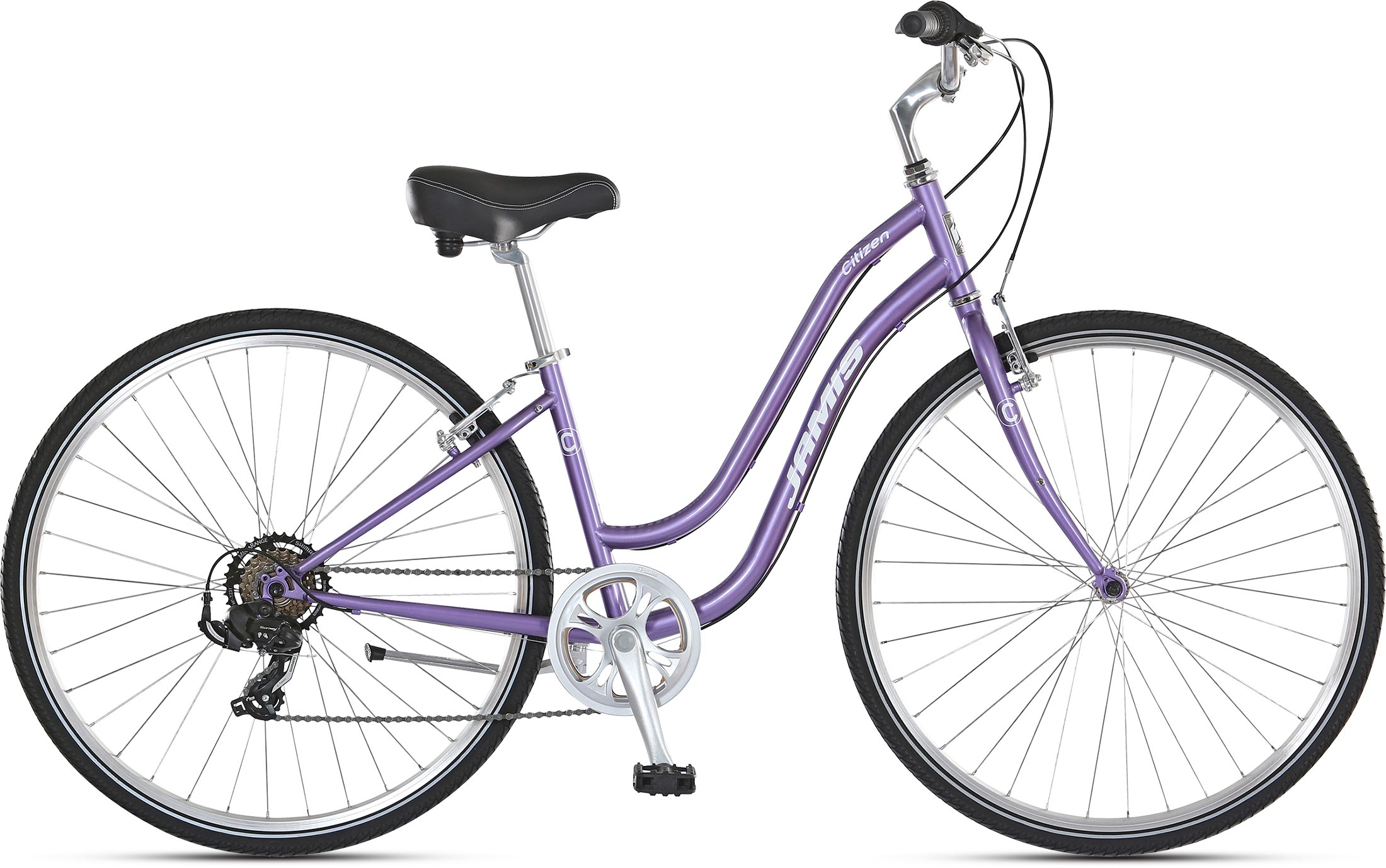 Jamis Citizen Step-Thru Color: Lavender Pearl