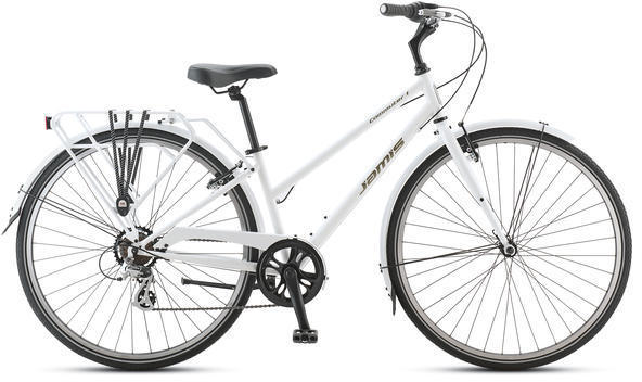 Jamis Commuter 1 Femme Color: Pure White