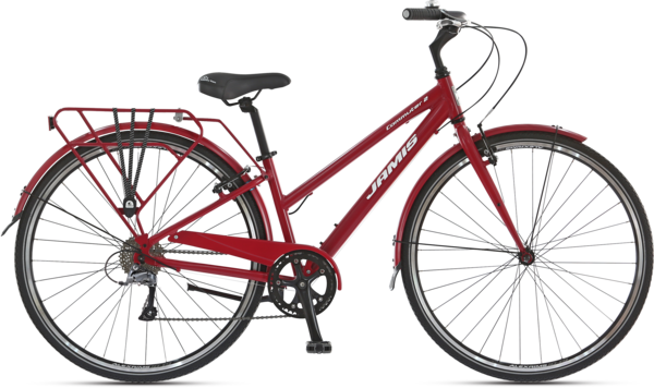 Jamis Commuter 2 Step-Thru Color: Dragon Fruit