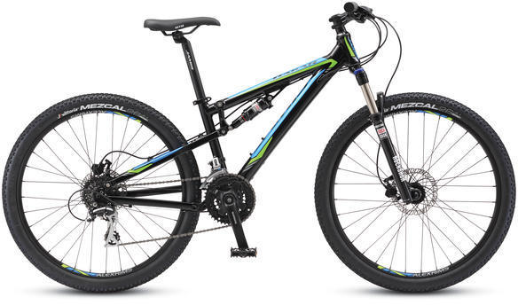 Jamis Dakar X26 Color: Gloss Black