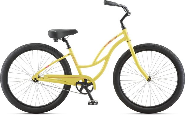Jamis Earth Cruiser 1 Step-Thru Color: Banan Appeal