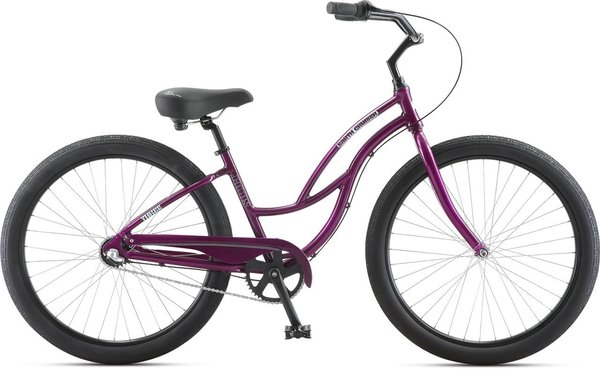 Jamis Earth Cruiser 3 Step-Thru Color: Grape Jelly
