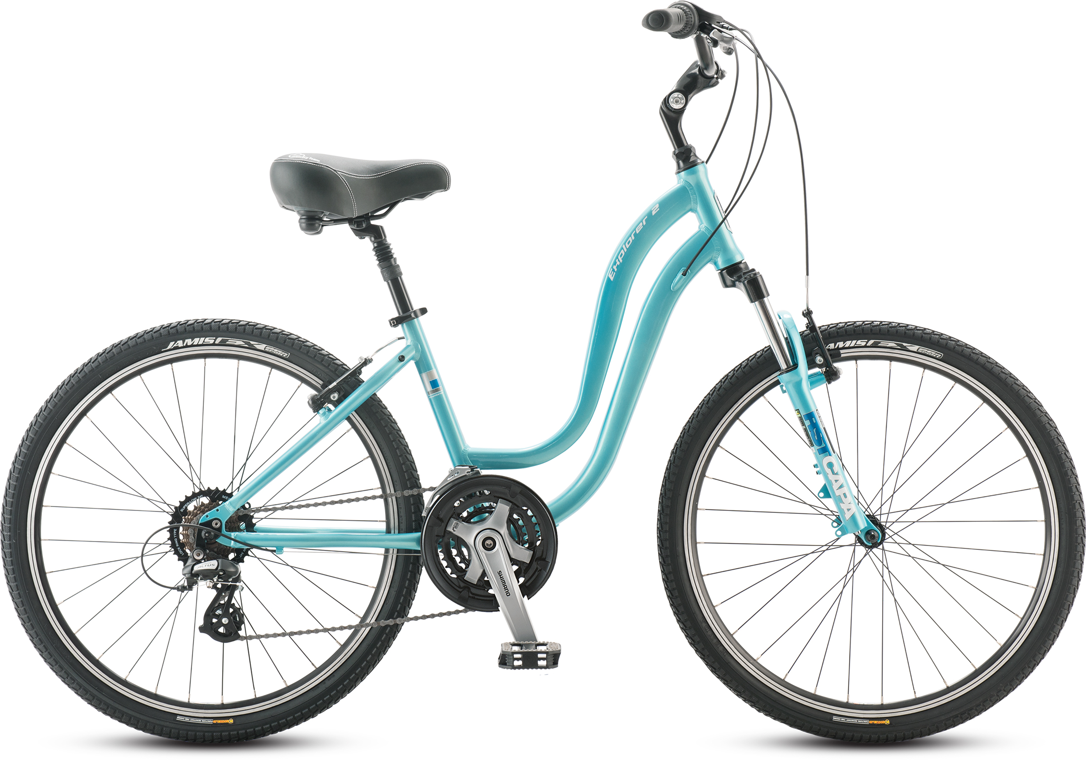 Jamis Explorer 2 Femme Color: Radiant Teal