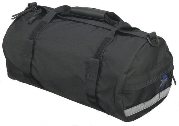Jandd Duffel Rack Pack With Shoulder Strap Color: Black