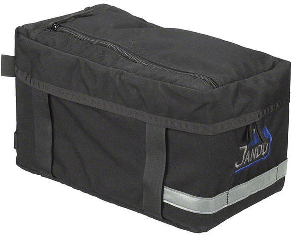 Jandd Economy Rack Bag Color: Black