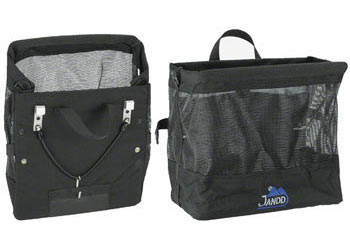 Jandd Grocery Bag Pannier Color: Black