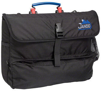 Jandd Laptop Pannier Color: Black