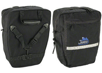 Jandd Mini Mountain Pannier Set Color: Black