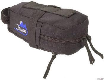 Jandd Mini Mountain Wedge Seat Bag Color: Black